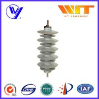 Wholesale Substation Composite Metal Oxide Surge Lightning Arrester Lightweight Protection Device from china suppliers