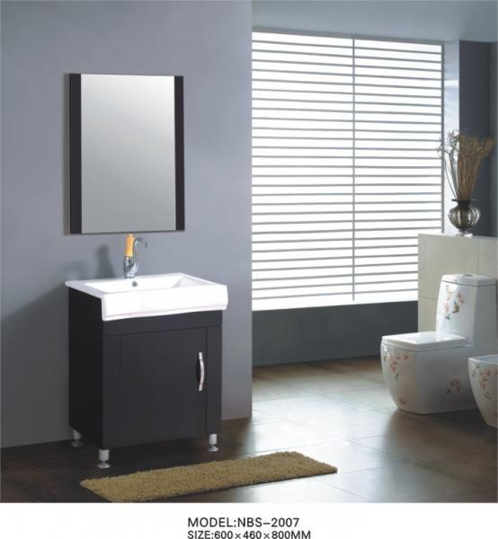 Mahogany Flush Small Wooden Bathroom Cabinet Antique Wooden Vanity 60 X 46 X 85cm Of Item 105594325