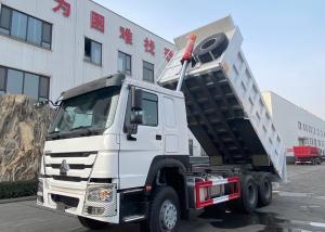 Wholesale Sinotruk HOWO 6X4 371HP 18cbm Hyva Hoist Dump Truck Heavy Duty Dump Truck from china suppliers