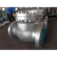 Wholesale BS1868 Cast Steel Swing Check Valve ASTM A216 WCB,13%Cr Trim 5#, 14 Inch RF,class 600LB from china suppliers