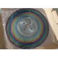 Wholesale DMo5 material industry PVD TIALN coating high speed circular saw blade from china suppliers