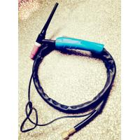 Wholesale TIG air cooled welding torch WP-17 gas and power together type with blue handle from china suppliers