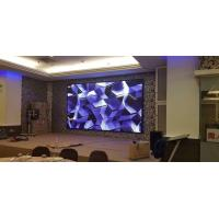 Buy cheap Black SMD Full Color Indoor LED Screens 4.8mm Pixel Pitch Synchronism Control from wholesalers