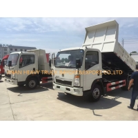 Wholesale 5T Small Light Duty Commercial Trucks 4x2 Sino Howo Dump Truck from china suppliers