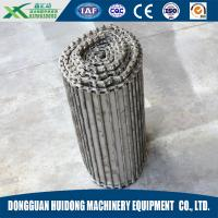 Wholesale Fire Resistant Roller Track Conveyor , Collapsible Roller Conveyor With SS Wire Mesh Chain Link Plate from china suppliers