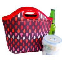 Wholesale Food standard insulated neoprene cooler lunch box bag for office with handle from china suppliers