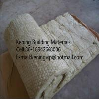 Rock wool blanket mineral wool roll with wire mesh for for Mineral fiber blanket insulation