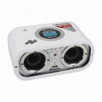 Wholesale LCD Display SD/MMC and USB Card Reader Portable Speaker with FM Radio + Remote Control from china suppliers