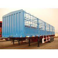 Wholesale Multi Purpose13m Drop Side Trailer 3 Axles , Fence Cargo Side Wall Semi Trailer from china suppliers