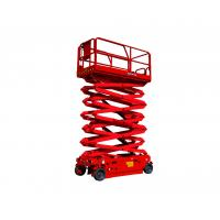 Wholesale 15m Aerial Work Platforms Self Propelled Electric Scissor Lift 51ft Height Lift GETAS1413 from china suppliers