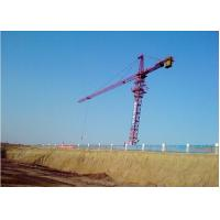 Wholesale 52m Height Under Hook 7034 stationary attached Tower Crane Luffing Crane with 52.5m Boom from china suppliers