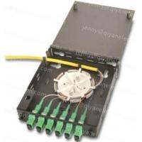Wholesale Black indoor Fiber Optic Wall Mount Termination Box from china suppliers
