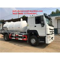 Buy cheap 4X2 10cbm Sewage Suction Truck Tank Volume 10m3 / 10000L 160hp Euro 2 Standard from wholesalers