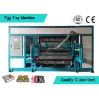 Wholesale Powerful Automated Rotary Egg Tray / Fruit Tray Moulded Machine 4000pcs/h from china suppliers