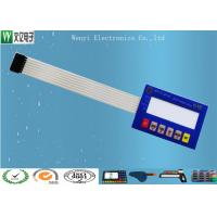 Wholesale Custom Membrane Switch Panel For Electronic Scales With 3M9448A Back Adhesive from china suppliers