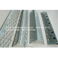 Wholesale 50*50mm*2.7m Aluminium angle beads protecting mesh from china suppliers