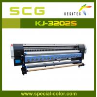 Wholesale 3.2m Eco solvent printer with 2pcs Dx5 heads,high speed ,high quality KJ3200S from china suppliers