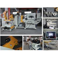 China Automatic Yaskawa Servo Motor Drive NC Roll Decoiler Straightener Feeder wholesale