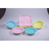Wholesale Food Contact Safe Eco Friendly Paper Plates For Wild Camping Barbecue from china suppliers