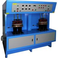 Three Phase Two Station Braze welding Induction Heat treatment Equipment 60KW
