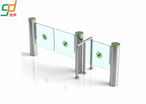 Wholesale Intelligent Infrared Sensor Automatic Swing Gates , Stainless Steel Swing Barrier from china suppliers