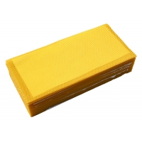 Wholesale Grade B Beekeeping 110g Beeswax Foundation Sheet from china suppliers