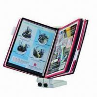 Wholesale Extendable Display System, Equipped with 10 Panels for Displaying 20 Sheets of Documents from china suppliers