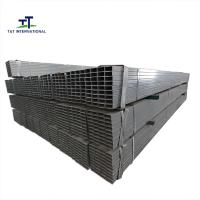 Wholesale Green House Structure Rectangular Hollow Section Steel , Metric Rectangular Tubing from china suppliers