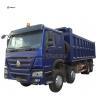 Buy cheap CHINA SINOTRUK 30M3 CBM 8x4 cheap HOWO 371hp 12 wheeler dump truck from wholesalers