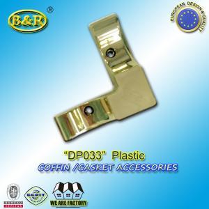 China Casket hardware coffin accessories / coffin fittings DP033 plastico herraje para ataud size 10*10cm wholesale