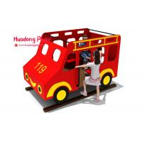 Quality Toddler HDPE  Playground Bus Style Engineering Plastics High Strength Long Life Span for sale