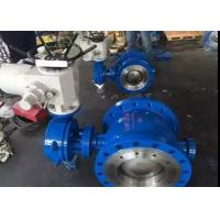 China Peumatic Actuator Stainless Steel Butterfly Valve with Metal Seat Sealing on sale