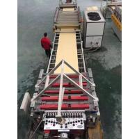 Wholesale Free Foam Board Plastic Sheet Extrusion Machine , WPC Board Making Machine from china suppliers