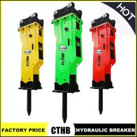 Wholesale Side Type Hydraulic Breaker for Excavator Hydraulic Rock Hanmmer from china suppliers