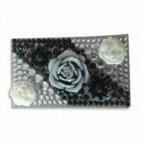 Wholesale Crystal Stickers for Mobile Phone Decoration in Fashionable Design, OEM and ODM Orders are Welcome from china suppliers