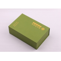 Wholesale Top Flap Lid 1500gsm Cardboard Packaging Boxes With Hot Stamped Logo from china suppliers