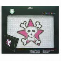 Wholesale Laptop Skin, Non-stick Dirt, Available in 14-design, Measures 12.2 x 8.3cm from china suppliers