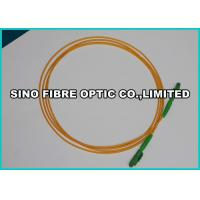 Buy cheap 9 / 125 um Simplex Fiber Optic Patch Cables LX5 Connector Yellow Jacket from wholesalers