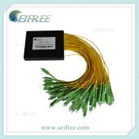 Wholesale 1x64 plc splitter with plastic box fiber optic splitter from china suppliers