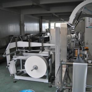 Buy cheap High Speed Wet Tissue Paper Making Machine , Wet Napkin Packing machine from wholesalers