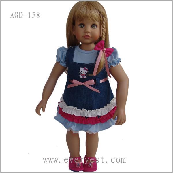 Quality 18 inch fashion American girl dolls for sale