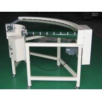 Wholesale PVC Curve 90 Degree Belt Conveyor , Slat Powered Belt Conveyor For Food Industry from china suppliers