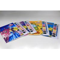 Wholesale Custom Children Coloring Book Printing , Colouring Books To Print With Watercolor from china suppliers