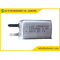 Wholesale Li-MnO2 Battery 1200mAh 3.0V CP502440 lithium battery Replacement CR14250 from china suppliers