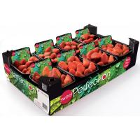 Wholesale Fruit boxes UV coating boxes strawberry packaging wholesale from china suppliers
