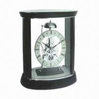 Wholesale Skeleton Clock with Birch Wood Finish from china suppliers