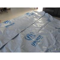 China Reinforced Plastic Tarpaulin Plastic Sheets/Rolls on UN/MSF/IFRC specifications wholesale