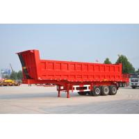 Wholesale 30Tons Rear Dump Semi Trailer Hyva Hydraulic Cylinder  Dual Axle Dump Truck from china suppliers