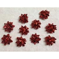 """Wholesale Professional Metallic and Holographic Mini Gift star bow 3 / 4"""" diameter , 3mm width from china suppliers"""