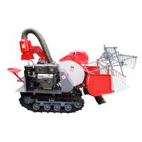 Wholesale Paddy selfpropell full feeding rice combine harvester 4LZ-0.8 1.2m harvesting machine from china suppliers